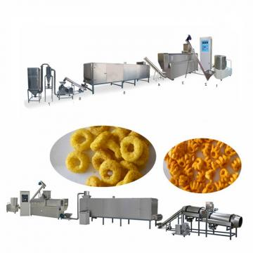 Maize Flakes Corn Chips Flakes Making Machine Production Line