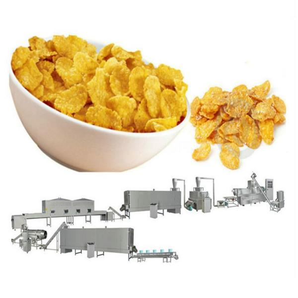 Automatic Corn Puff Snacks Maize Flakes Breakfast Cereals Cornflakes Cheese Ball Curls Kurkure Cheetos Making Processing Machine #1 image